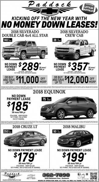 No Money Down Lease Deals Buffalo Ny | Car Reviews 2018