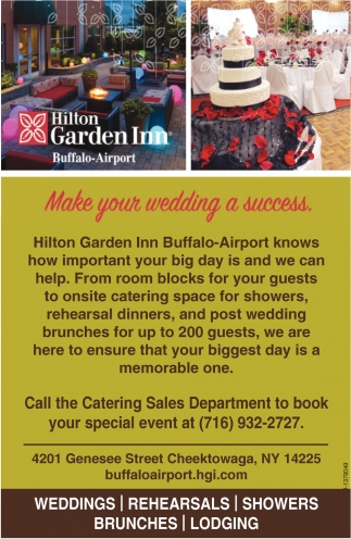 Make Your Wedding A Success, Hilton Garden Inn