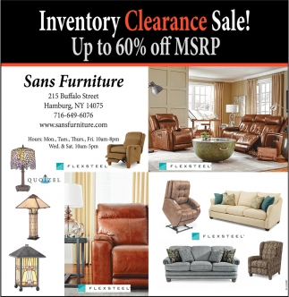 New year sale sans furniture hamburg ny