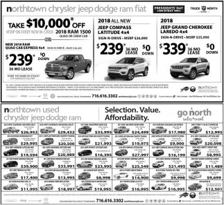 Start Something New, Sales Event, Northtown Chrysler Jeep Dodge, Tonawanda,  NY