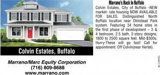Colvin Estates Buffalo Marrano Marc Equity Corp