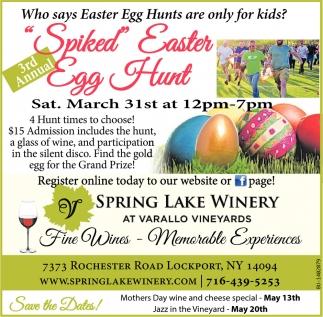 Spiked Easter Egg Hunt