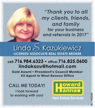 Linda S. Kazukiewicz