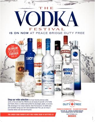 The Vodka Festival
