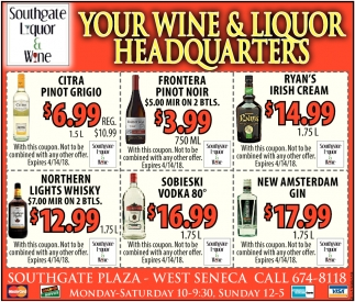 Your Wine & Liquor Headquarters