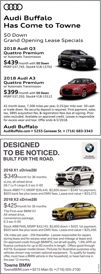 Audi Buffalo Has Come to Towne