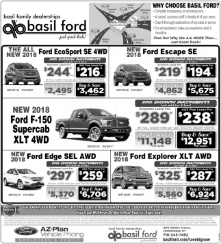 Why choose Basil Ford?
