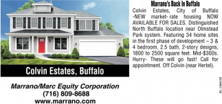 Colvin Estates, Buffalo