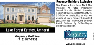 Regency Builders Exclusive