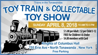 Toy Train & Collectable Toy Show