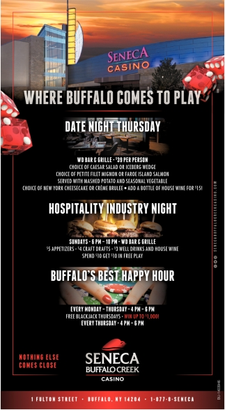 Where Buffalo Comes to play