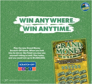 Win Anywhere Win Anytime New York Lottery Schenectady Ny