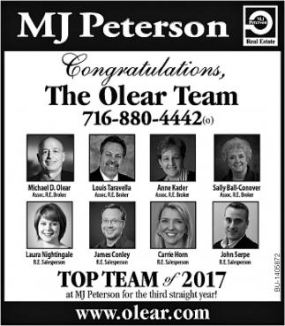 Congratulations The Olear Team