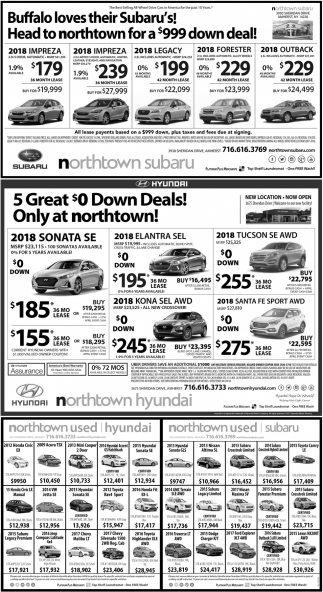 Buffalo loves their Subaru's!