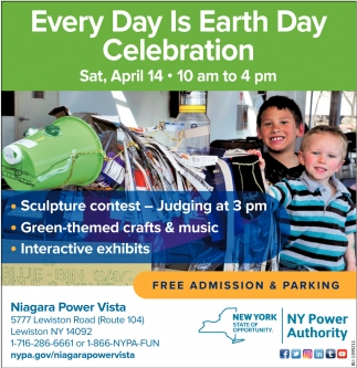 Every Day is Earth Day Celebration
