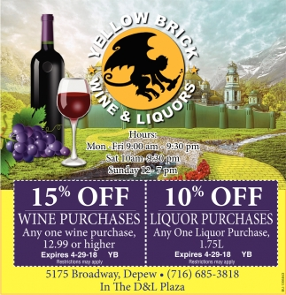 Wine & Liquors