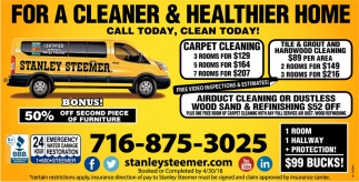 For a Cleaner and Healthier Home!