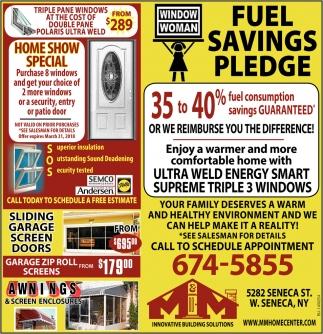 Fuel Savings Pledge