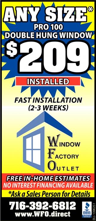 Fast Installation