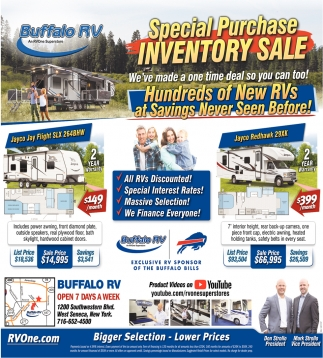 Special Purchase Inventory Sale