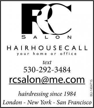 Hair House Call