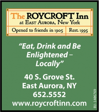 Eat, Drink and Be Enlightened - Locally