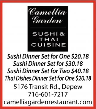Sushi And Thai Cusine