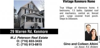 Vintage Kenmore Home