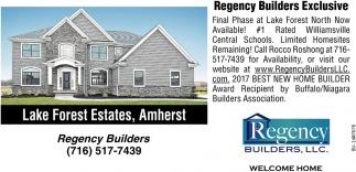 Regency Builders Exclusive