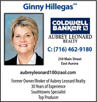 Former Owner/Broker of Aubrey Leonard Realty