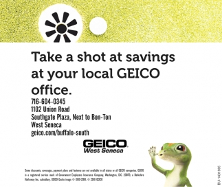 Take A Shot At Savings At Your Local Geico Office