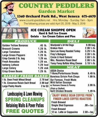 Ice Cream Shoppe Open