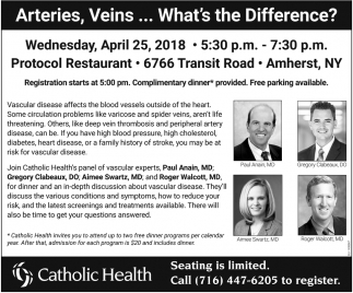 Arteries, Veins... What's The Difference?