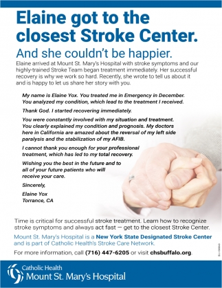 The Closest Stroke Center