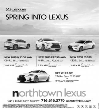Spring Into Lexus