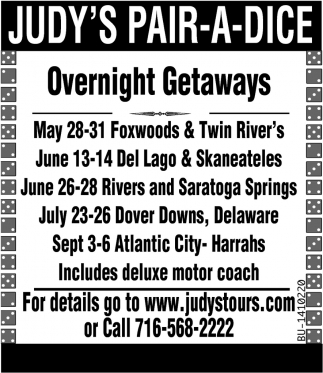Overnight Getaways