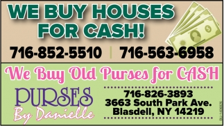 We Buy House For Cash!