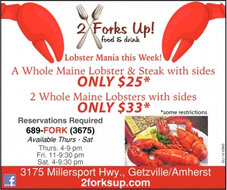 Lobster Mania This Week!