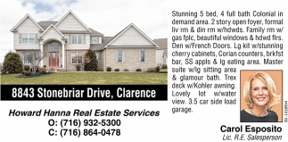 8843 Stonebriar Drive, Clarence