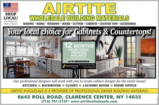 Your Local Choice For Gabinets & Countertops!