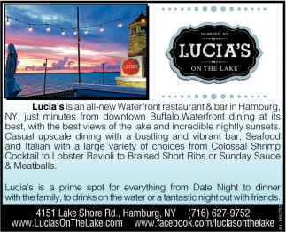 Lucia´s on the Lake