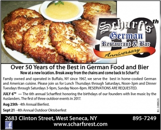 The Best In German Food And Bier