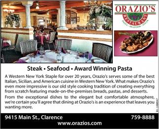 Pasta - Sea Food - Award Winning Pasta