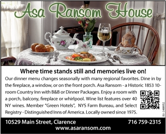 Asa Ransom House