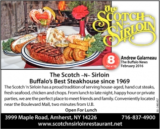 Buffalo's Best Steakhouse Since 1969