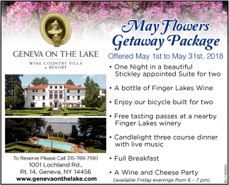May Flowers Getaway Package