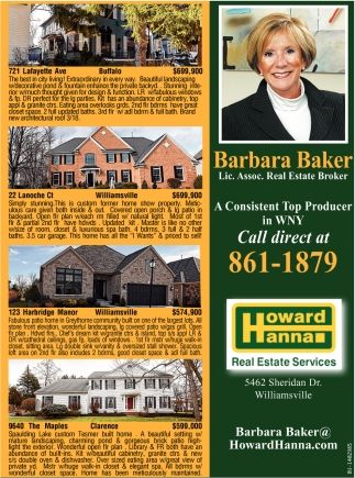 A Consistent top Producer in Western New York