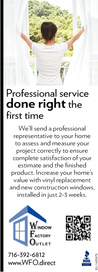 Professional Service Done Right