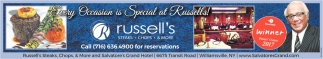 Every Occasion Is Special At Russell's