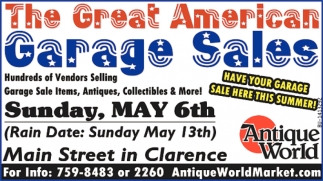 The Great American Garage Sales